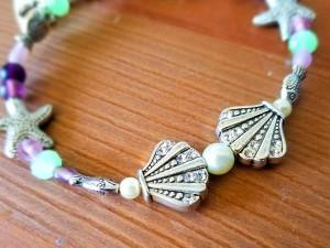 Little Mermaid themed bracelet