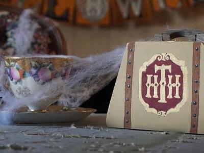 Disneyland Hollywood Tower of Terror Mini Luggage Treasure Box