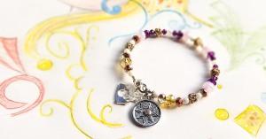 DIY Disney Princess Rapunzel Tangled Inspired Bracelet