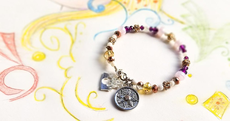 DIY Disney Princess Rapunzel Tangled Inspired Bracelet
