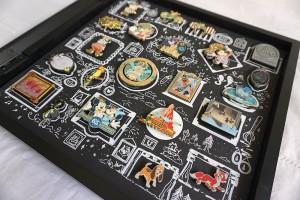 Disney Pin Trading; Pin Display Shadowbox
