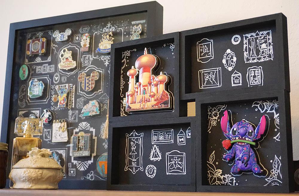 Disney DIY Jumbo Pin Display